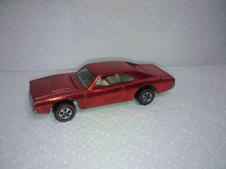 Hot Wheels Redline Dodge Charger Red Near Mint