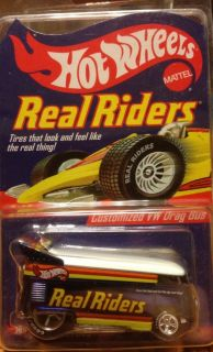 Hot Wheels Series 3 Real Riders Customized VW Drag Bus