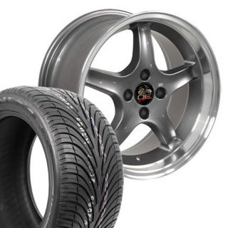 Gunmetal Cobra R Wheels Nexen Tires Rims Fit Mustang® 79 93
