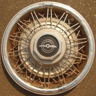 14 1981 82 Ford Thunderbird Hubcap Wire Spoke Wheel Cover E1SZ1130F