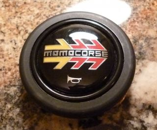 Momo Corse Steering Wheel Horn Button Italy
