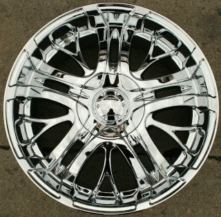 500 20 Chrome Rims Wheels Town Car 93 02 20 x 9 0 5H 14