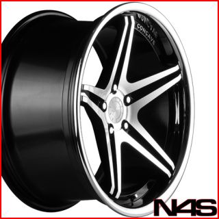 E93 328 335 Coupe Vertini Monaco Concave Staggered Wheels Rims