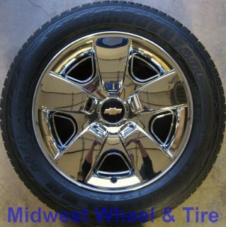 OEM ORIGINAL 20 CHEVY TAHOE SUBURBAN WHEELS RIMS TIRES FACTORY STOCK