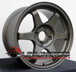 Style Wheels Rims Fit Honda Civic DX SI 19989 2000 CRX 1989 91