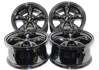 94 04 Mustang Bullitt Wheels 17 Black Chrome Rims