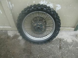CR250R Honda 1994 CR250 94 Rear Wheel