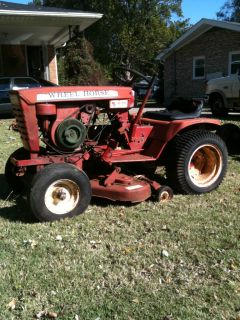 Wheel Horse A 90 Riding Mower Lawn Garden Tractor  Running