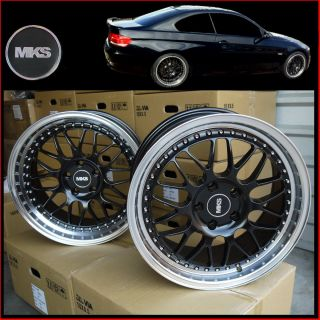 MKS 18x8 5 9 5 5x120 Staggered Concave Wheels BMW F30 E90 E92 328i