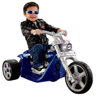 Power Wheels Harley Davidson Motorcycle Rocker Ride On