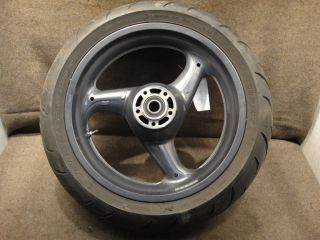 97 Buell Thunderbolt 1200 Touring S3T Wheel Rear Rim Tire A39