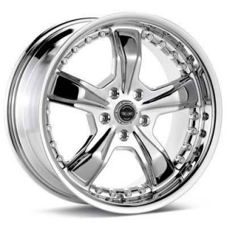 16 inch Chrome Razor Rims Wheels 16x7 5x100 Brand New