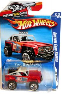 2010 Hot Wheels HW Racing 151 Custom Ford Bronco