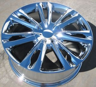 Your Stock 4 New 18 Factory Hyundai Genesis Chrome Wheels Rims