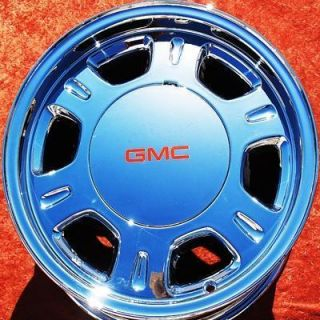 GMC SAFARI SIERRA YUKON DENALI AVALANCHE CHROME OEM WHEELS RIMS 5077