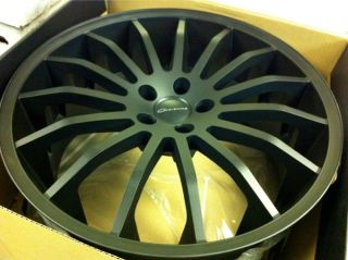 22 Black Giovanna Martuni Wheels 5x120 Rims Range Rover