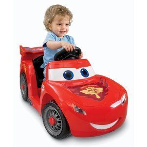 Power Wheels Fisher Price Ride On Disney Pixar Cars 2 Lil Lightning