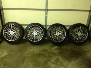 Winter Snow Tires and Wheels Like New Elbrus Rims Blizzak Snows
