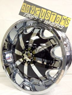 26 inch Rims Wheels Tires RW130 5x127 Chevy Caprice 1972 1973 1974