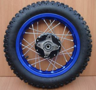 12 Rear Wheel Tire Rim Assy Wheels 110cc 125cc Pit Dirt Bike 3 00 12