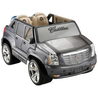 Power Wheels Fisher Price Cadillac Hybrid Escalade Grey