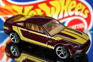 2011 Hot Wheels 144 Faster Than Ever 10 Ford Mustang GT Chrome O5S