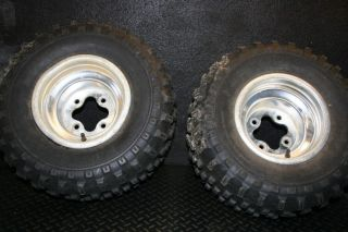 2005 Honda 450R 450 R Rear Wheels Rim Tires 450R TRX450R