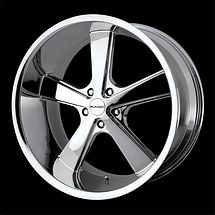20 KMC Nova Rims Wheels Chrome 20x10 18 5x114 3
