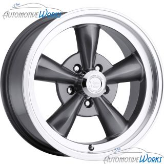 Vision Legend 5 5x127 5x5 0mm Gun Metal Wheels Rims inch 17