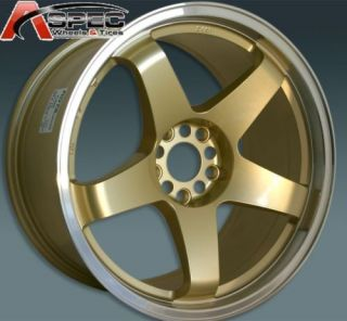 Rota P 45R 18x9 5 5x114 3 20 Royal Gold Rims Wheels
