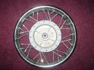 Yamaha PW80 Rear Wheel Rim New with Sprocket Hub New PW 80