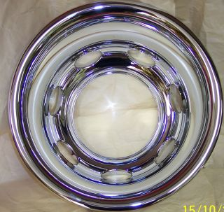 Dodge RAM Rear Dually Wheel Center Hub Caps Ring 16  Tire Rim