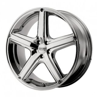 16 inch Maverick Chrome Wheels Rims 5x120 Pontiac G8 GTO Land Rover
