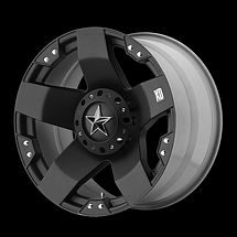 20 inch KMC XD Series Rockstar 775 Wheels Rims 20x8 5 Black 5x5 5x127