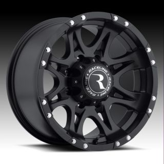 18 Raceline Raptor Rims Wheels Black 18x9 6x5 5 6x139 7 6