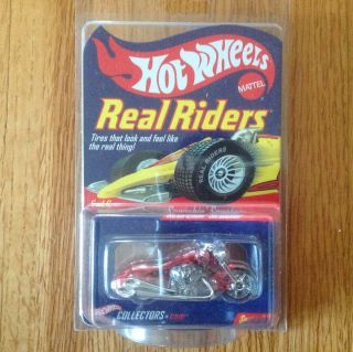 Hot Wheels RLC Series 3 Scorchin Scooter Real Riders Motorcycle