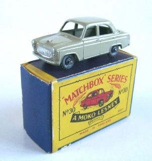 Matchbox Moko Lesney 30 Ford Prefect 1957 MIB