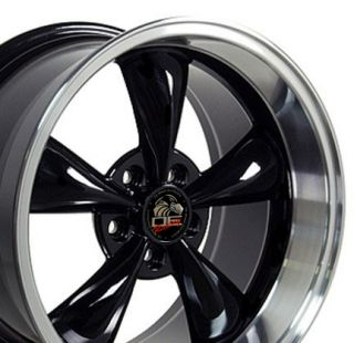 17 Bullitt Wheel Black 17x10 5 Rim Fits Mustang®