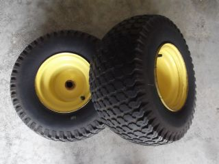 John Deere 165 175 185 Rear Rims and Tires