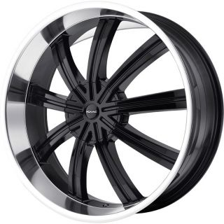 26 Widow Black Rims Tires 6x139 7 Armada Chevy GMC Tahoe Yukon QX56