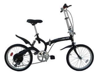 Speed 20 Alloy Wheels with City Tires Folding Bike