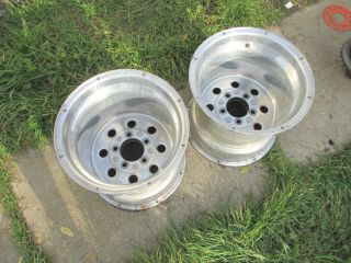15x14 Weld Racing Draglite Wheels Rims Drag Race 15 Pro Star 5x5 5x5