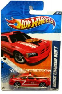 2011 Hot Wheels HW Main Street 170 Dodge Charger Drift