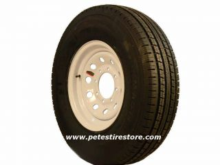 Greenball Transmaster Radial Trailer Tire Spoke Wheel ST235 80R16 6