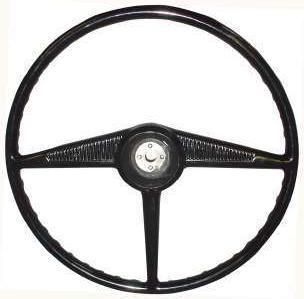 New Black Ebonite Steering Wheel 1953 55 Ford Pickup