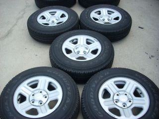 16 Jeep Wrangler x Wheels Tires Rims 9072