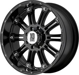 Series XD795 22X9 5 HOSS Black TIRES RIMS Wheels NITTO TIRES OFFROAD