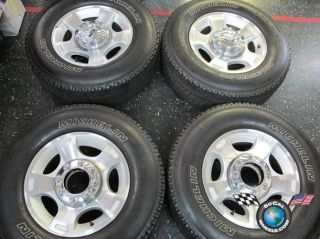 F250 F350SD Factory 18 Wheels Tires OEM Rims Michelin 275 60 18 3790