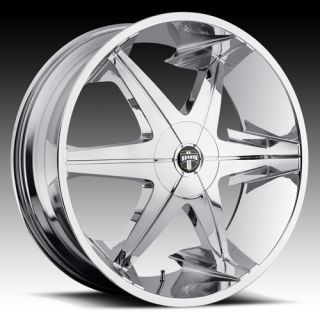 lll 3 Wheel Set 26x9 5 Chrome Rims for rwd 5 6 Lug Vehicles