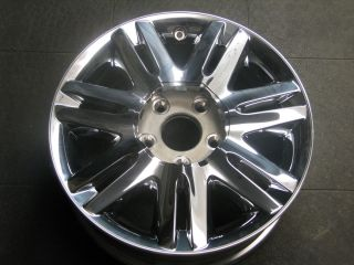 17 Chrysler Town Country 14 Spoke Chrome Clad 2333 Wheel Rim